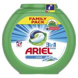 Ariel Alpine - 3en1 - lessive en capsules