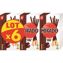 LU LU Mikado - Biscuits chocolat noir