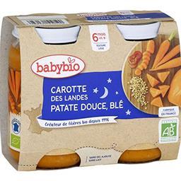Bonne Nuit - Carotte des Landes patate douce & blé B...