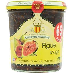 Confiture cuite au chaudron figue rouge