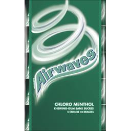 Chewing-gums Chloro Menthol sans sucres