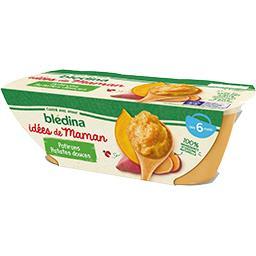 Les Idées de Maman - Purée de potirons patates douce...