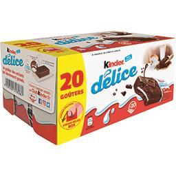 Délice - Gâteau enrobé au cacao