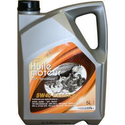 Huile 5W40 essence