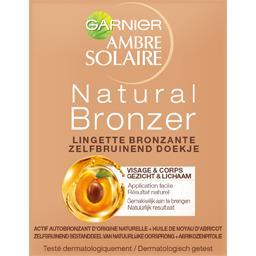 Lingette bronzante Natural Bronzeur visage & corps