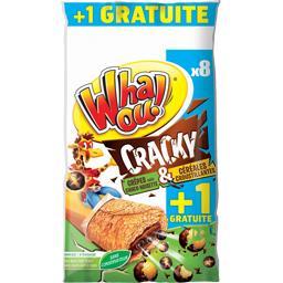 Whaou! Crêpes Cracky choco noisette & céréales croustillant... les 8 crêpes de 32 g