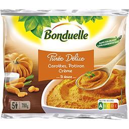 Bonduelle Purée Délice - Purée carottes, potiron crème