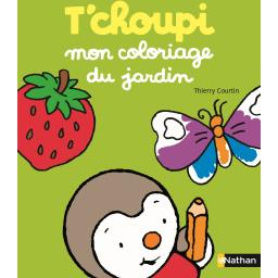 T'choupi, mon coloriage du jardin