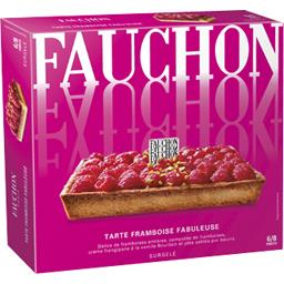 tarte passionnement framboise fauchon 510g