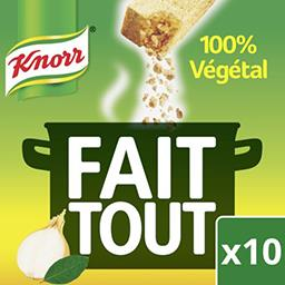 Bouillon Fait Tout 100% végétal