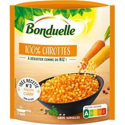 Bonduelle 100% carottes le sachet de 400 g