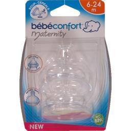 Maternity - Tétines silicone 3 vitesses, 6-24 mois