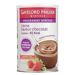Crème saveur chocolat - Programme Minceur