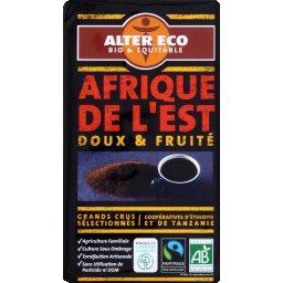 Café moulu Afrique de l'Est arabica et robusta BIO