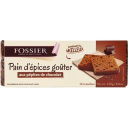 Fossier Pain d'épices goûter aux pépites de chocolat