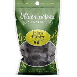 Olives noires au naturel