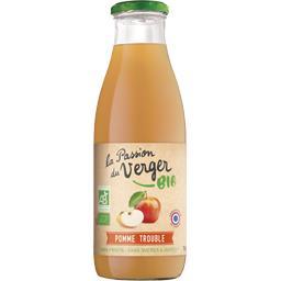 La Passion du Verger Jus de pomme trouble BIO la bouteille de 75 cl