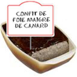 Confit de foie maigre de CANARD