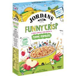 Jordans Funny Crisp - Céréales complètes pomme framboise