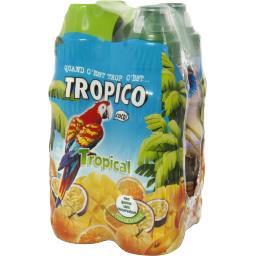 Tropico Boisson à l'eau de source les 4 bouteilles de 20 cl