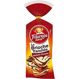La Brioche Tranchée marbrée chocolat