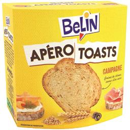 Apéro Toasts - Toasts Campagne