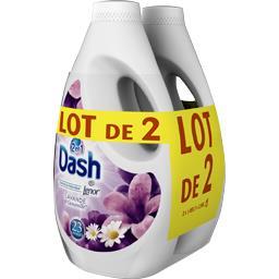 Dash Lessive lavande les 2 bidons de 1l495 (23x2 lavages)