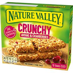 Nature Valley Crunch Avoine Cran 210 g