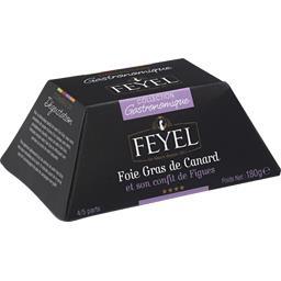 Feyel Foie gras de canard et son confit de figues le foie gras de 180 g