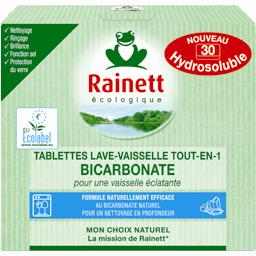Tablette lave vaisselle tout en 1 bicarbonate