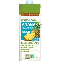 Pur jus d'ananas de Madagascar BIO