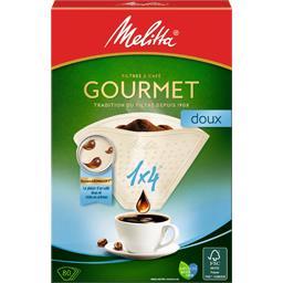 Filtres à café 1x4 Gourmet doux