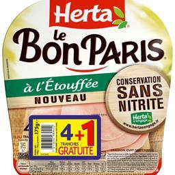 Herta Le Bon Paris - Jambon à l'étouffé sans nitrite
