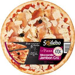 La Pizza mozzarella jambon cru