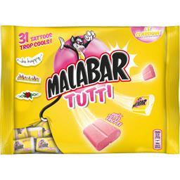 Bubble gum goût Tutti Frutti
