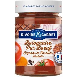 Bolognaise pur bœuf oignons et carottes rissolés