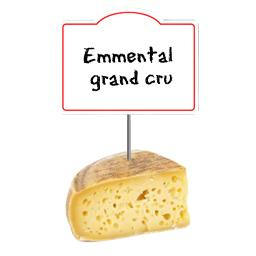 Emmental grand cru LABEL ROUGE 32% de MG