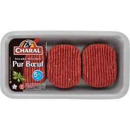 Steaks hachés pur bœuf 5% MG