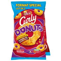 Biscuits apéritif Donuts cacahuète caramélisée