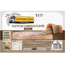 Filets de hareng fumés doux