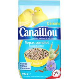 Canaillou repas complet graines et céréales pour canaris la boite de 800 g
