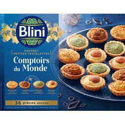 Blini Coffret petites tartelettes Comptoirs du Monde