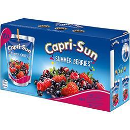 Summer Berries - Boisson aux jus de fruits