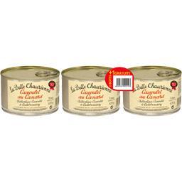 La Belle Chaurienne Cassoulet au canard, conserverie du Languedoc, Caste... les 3 boites de 420g