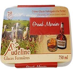 Audeline Crème glacée au grand marnier Le bac de 750 ml