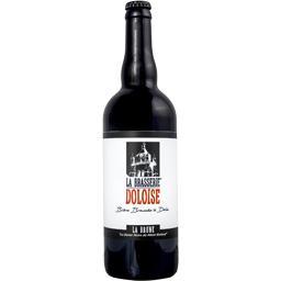 """Bière brune """"la dame noire du mont-roland"""""""