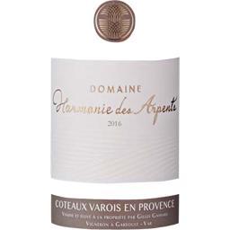 Domaine Harmonie des Arpents Coteaux Varois en Provence, vin rosé, 2016