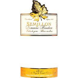 Vin de Pays du Comté Tolosan Sémillon moelleux, vin blanc