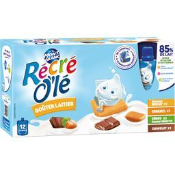 Récré O'lé - Goûters laitiers assortiment