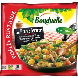 Poêlée Rustique - Poêlée La Parisienne